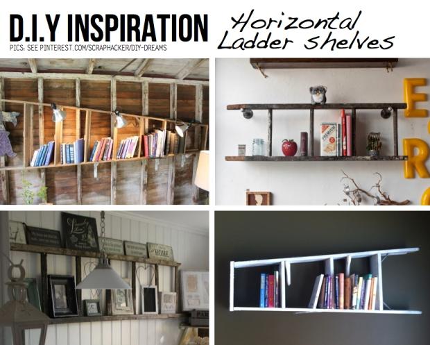 horizontal-ladder-shelves