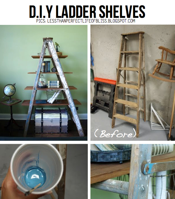 ladder-shelves